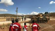 Bordo Bereliler Simon Kalesi'nde! Afrin'e girmek için emir bekliyorlar