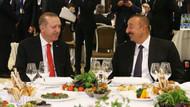 Aliyev'den Cumhurbaşkanı Erdoğan onuruna yemek