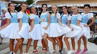 Antalya'daki Alman turistler Oktoberfest'i kutladı