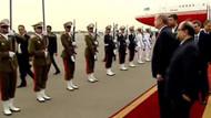 Cumhurbaşkanı Erdoğan İran'da böyle karşılandı