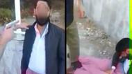 Sosyal medya bu olayı konuşuyor: Etek giydirip kendi kendini vurdurdular