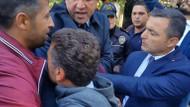 Meclis kapısında olay: Milletvekilleri ile polis arasında arbede!