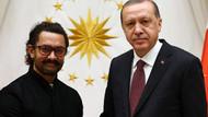 Cumhurbaşkanı Erdoğan Hindistanlı oyuncu Khan'ı kabul etti