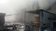 İstanbul Hadımköy'de korkutan yangın
