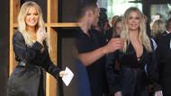 Khloe Kardashian'ın karnı iyice büyüdü, tarzından ödün vermedi!