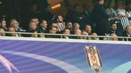 Erdoğan Beşiktaş Monaco maçını Vodafone Park'ta takip etti