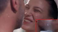 Serenay Sarıkaya ile Ozan Güven'in olay öpüşmesi