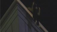 Genç kadın 17 katlı lüks otelin çatısından böyle atladı