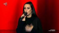 O Ses Türkiye Feryal Sepin'den Ben insan değil miyim performansı