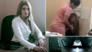 Ünlü spikerin ofisini basıp kocamla yattın diyerek dövdü