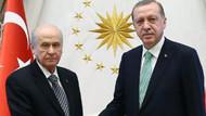 Erdoğan'dan Bahçeli'ye yanıt: MHP ile her adımı atarız
