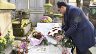 Cumhurbaşkanlığı Sözcüsü İbrahim Kalın, Ahmet Kaya'nın mezarını ziyaret etti
