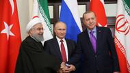 Erdoğan Putin ve Ruhani'nin Soçi fotoğrafı dünyada olay oldu