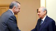 Erdoğan ile Bahçeli'nin Alparslan Türkeş görüşmesi