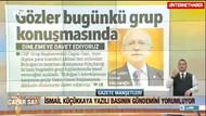 İsmail Küçükkaya Erdoğan'ın istifa açıklamalarını değerlendirdi