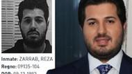 Reza Zarrab mahkum kıyafetiyle, ayakları kelepçeli...