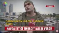 Yer Mecidiyeköy metrobüs: Kendisinden para isteyen madde bağımlısını ateşe verdi