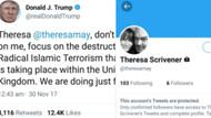 Başbakana mesaj atmak isteyen Trump hesapları karıştırdı