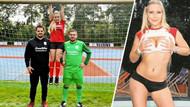 Porno yıldızı Lena Nitro forma sponsoru oldu