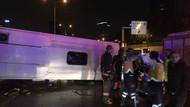 İstanbul'da feci kaza: 2 ölü, 18 yaralı