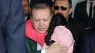 Erdoğan'a sarılan minik Göksu'nun hikayesi yürek burktu