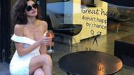 Seksi oyuncu Nesrin Cavadzade bu pozuyla sosyal medyayı salladı