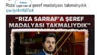 A Haber Reza Zarrab'a madalya verilsin haberini niye sildi?