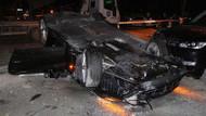 İstanbul'da kaza! Trabzonsporlu Burak Yılmaz da araçtaydı!