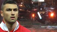 Burak Yılmaz'ın kaza yaptığı araç bakın kimin çıktı