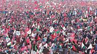 Yenikapı'da Kudüs mitingi: Oluk oluk kan aksa, kurtulacak El Aksa...