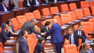 Dönek tartışması Meclis'i karıştırdı! Birbirlerinin üzerine yürüdüler