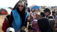 Gamze Özçelik Suriye'de çocuklarla buluştu