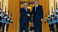 Erdoğan Filistin lideri Mahmud Abbas'ı kabul etti