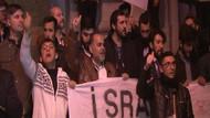 Sultan 2. Abdulhamid Han'ın kabri önünde İİT'nin aldığı Doğu Kudüs kararı protestosu