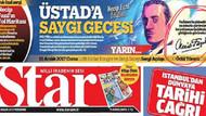 Star gazetesinin Necip Fazıl Kısakürek rezaletine tepki!