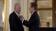 Ferit Şahenk'e Fransa'dan Legion d'Honneur nişanı