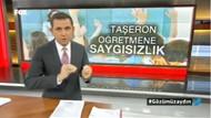Fatih Portakal'dan taşeron öğretmen tepkisi