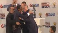 Erdoğan'ın üstüne atlayan vatandaş ortalığı karıştırdı
