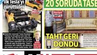 İTÜ, Hürriyet'in Tesla garajda çürüyor haberini yalanladı