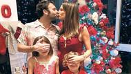 Alessandra Ambrosio'dan öpücüklü yeni yıl pozu