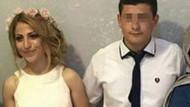 Düğün günü karısını öldürdü