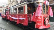 Nostaljik tramvay İstiklal Caddesi'nde seferlerine  başlıyor