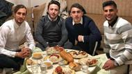 Sosyal medyanın konuştuğu fotoğraf! Yusuf Yazıcı ve 'Kardeş Sofrası'