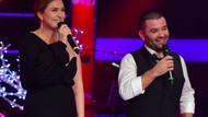 Ceyda Düvenci ve eşi Bülent Şakrak'tan O Ses Türkiye'de romantik düet