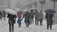 Meteoroloji uyardı İstanbul'a kar geliyor!