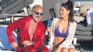 Gianluca Vacchi plajda pijamayla röportaj verdi
