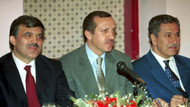 AK Parti'nin internet sitesinde ilginç fotoğraf: Üçü bir arada