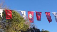CHP'yi isyan ettiren görüntü.. HDP bayrağını astılar