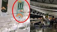 Esenboğa'daki İyi uçuşlar flamaları kaldırıldı! İşte nedeni