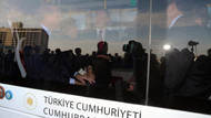 Cumhurbaşkanı Erdoğan elektrikli otobüsle yolculuk etti